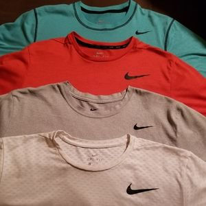 4 Nike DRI-FIT T-Shirts